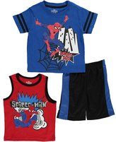 "Spiderman Big Boys' ""Webbed Explosion"" 3-Piece Set"