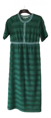 Maje Spring Summer 2019 Green Viscose Dresses