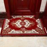 RUHHDGSDJCJX European-style loor Mats/Non-slip Mat/Water-absorbing Mats/Doormat/Door,Entrance,Bathroom,Kitchen loor Mats