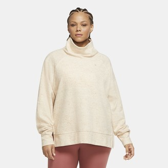 Nike Women's High-Neck Fleece Training Top (Plus Size Therma