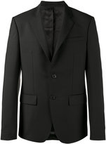 Givenchy single breasted blazer - men - Cupro/Mohair/Wool - 46