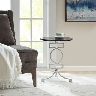 Madison Home USA Susan Black Accent End Table