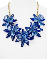 """Kate Spade Blooming Brilliant Statement Necklace, 22"""""""