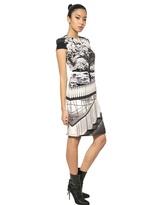 Mary Katrantzou Printed Heavy Silk Crepe Dress