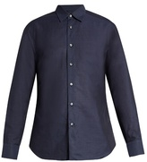 Brioni Loose-fit Linen And Cotton-blend Shirt