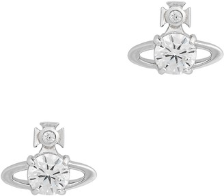 Vivienne Westwood Reina Crystal-embellished Stud Earrings