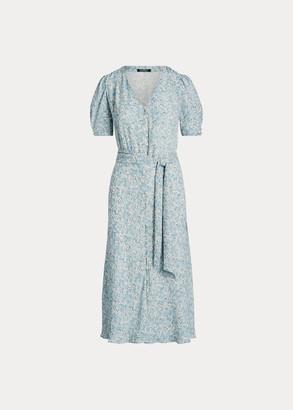 Ralph Lauren Georgette Midi Dress