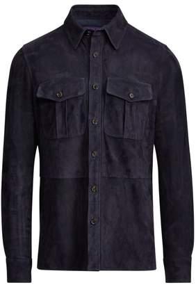 Ralph Lauren Purple Label Barron Suede Jacket