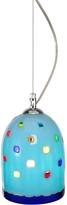 Voltolina Meg - Sky Blue Murano Handmade Glass Pendant Lamp