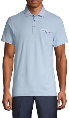 Saks Fifth Avenue Short-Sleeve Contrast Polo