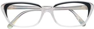 Cat Eye Fendi Pre-Owned clear cat-eye glasses