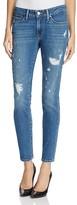 Levi's 711® Distressed Skinny Jeans in Salt Soul
