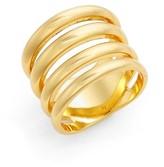 Argentovivo Women's Openwork Ring