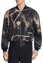 Alexander Wang Leave & Tree Print Winter Jacket