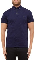 Ted Baker Serge Jacquard Regular Fit Polo