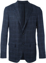 Ermenegildo Zegna checked blazer - men - Silk/Wool/Linen/Flax/Cupro - 46