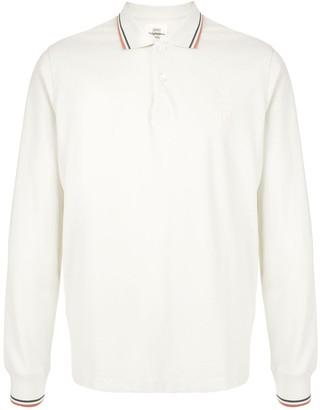 Kent & Curwen Long-Sleeved Polo Shirt