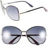 Tom Ford Women&s Solange Butterfly Sunglasses