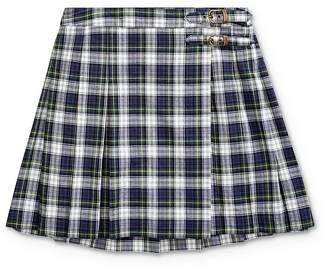 Ralph Lauren Girls' Plaid Madras Skirt - Big Kid