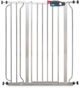 Regalo Easy-Step Extra-Tall Walk-Through Gate in Platinum