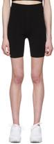 Alexander Wang Black Foundation Bodycon Bike Shorts