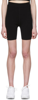 Alexander Wang Black Foundation Bodycon Bike Shorts