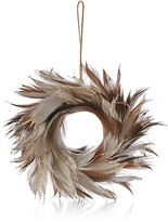 Bloomingdale's Feather Wreath Ornament - 100% Exclusive