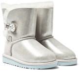 UGG Silver Metallic Arendelle Frozen Boots