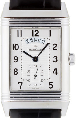 Jaeger-LeCoultre Jaeger Lecoultre Silver Stainless Steel Grand Reverso Duo Night & Day Q3748421 273.8.85 Men's Wristwatch 30 MM