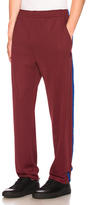 Acne Studios Norwich Face Pants in Red.