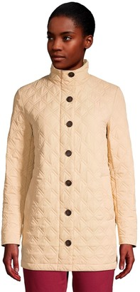 Lands' End Women's Packable Quilted Barn Coat