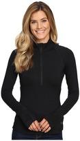 Mountain Hardwear Butterlicious Long Sleeve 1/2 Zip Top Women's Long Sleeve Pullover