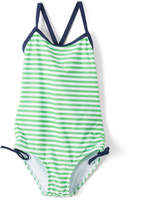 Kanu Surf Green Stripe Bali One-Piece - Toddler & Girls