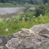 Hannah Louise Lamb Personalised River Ring