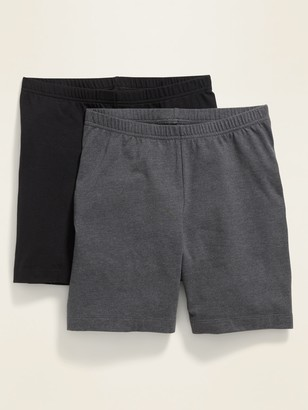 Old Navy Mid-Rise Biker Shorts 2-Pack for Women --7-inch inseam