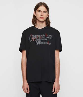 AllSaints La Ville Crew T-Shirt