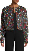 Love Moschino Women's Floral Print Jacket