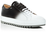 Salvatore Ferragamo Two-Toned Leather Low Top Sneakers