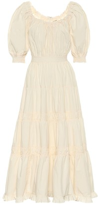 Ulla Johnson Colette cotton midi dress
