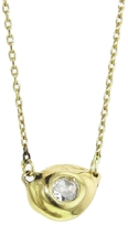 Ten Thousand Things Diamond Drop Pendant Necklace - Yellow Gold