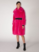Karl Lagerfeld Paris Faux Fur Coat
