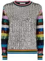 Mary Katrantzou Magpie Sequin Sweater
