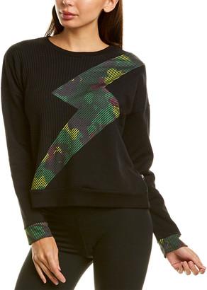Terez Printed Bolt Sweater