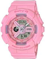Baby-G Casio Baby G Casio Baby G pink resin strap ladies watch