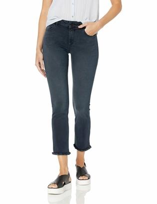 DL1961 Women's Mara Mid Rise Straight Leg Ankle Jean