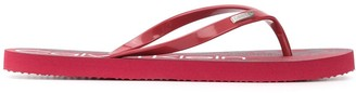 Calvin Klein Logo Flip-Flops