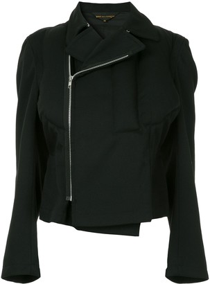 Comme des Garcons Pre-Owned zipped fitted jacket