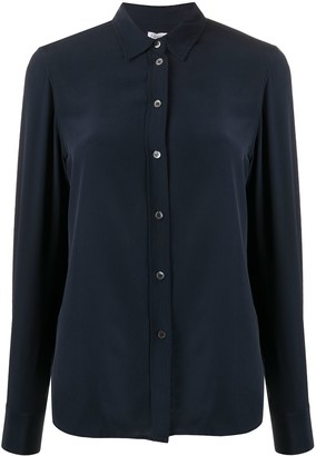 Filippa K Long-Sleeved Silk Shirt
