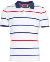 Eden Park Men's Striped Cotton Polo Shirt