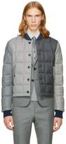Thom Browne Black & White Down Funmix Jacket